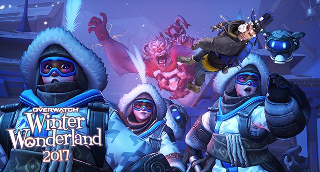 Overwatch Winter Wonderland 2017 โหมดล่าเยติพร้อมสกินใหม่สุดเฟี้ยว