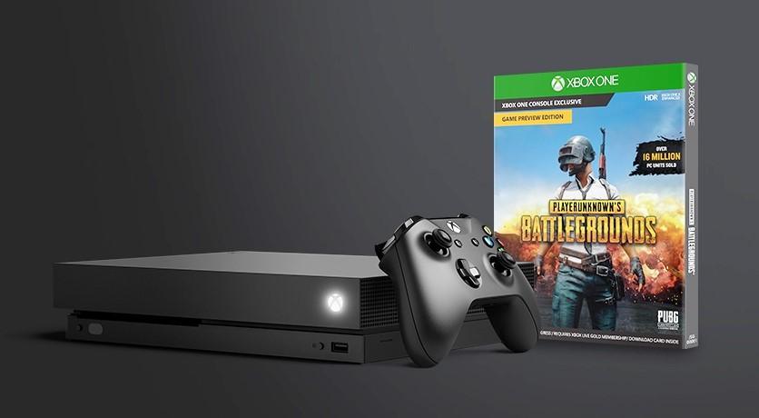 ไมโครซอฟท์ใจดี ซื้อ Xboxone X แถมเกม PUBG ไปเลยฟรีๆ