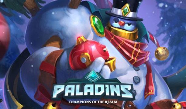 ตัวอย่างแรกโหมด Battlegrounds จากเกม Paladins