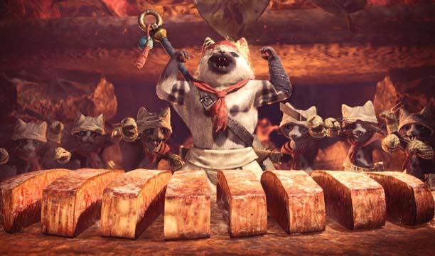 เมี้ยว! วิธีกินข้าวแมวใน Monster Hunter World