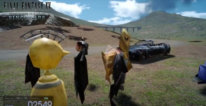 ชมการทดสอบเกม Final Fantasy 15 ด้วยกราฟิกระดับต่ำสุดๆ