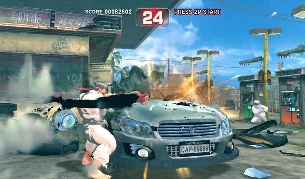 Capcom ผู้สนับสนุนการทุบรถ (ฮา!) กับประวัติฉากทุบรถสุดฮิต