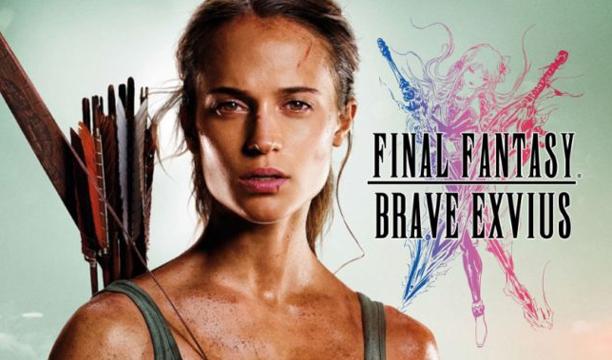 Lara Croft บุกโลก Final Fantasy ต้อนรับหนังภาคใหม่