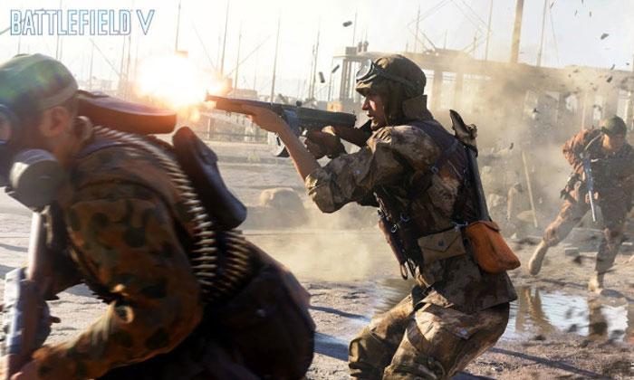 EA ปล่อยตัวอย่างเกมเพลย์ใหม่ของ Battlefield V