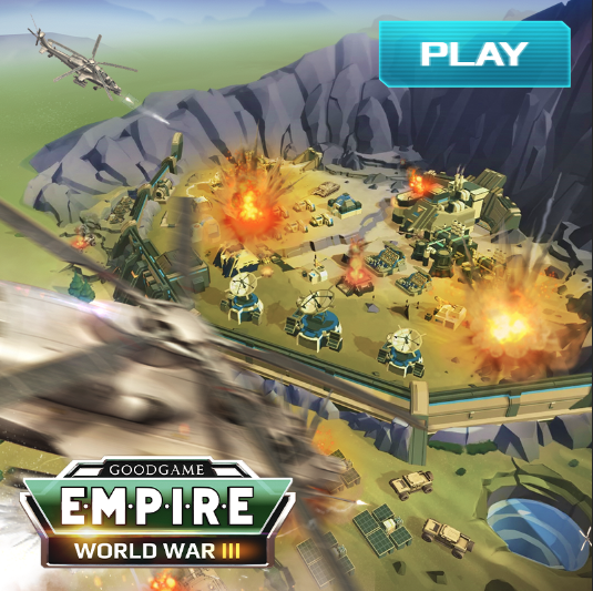 เกมส์ทำเค้ก เกม Empire World War III