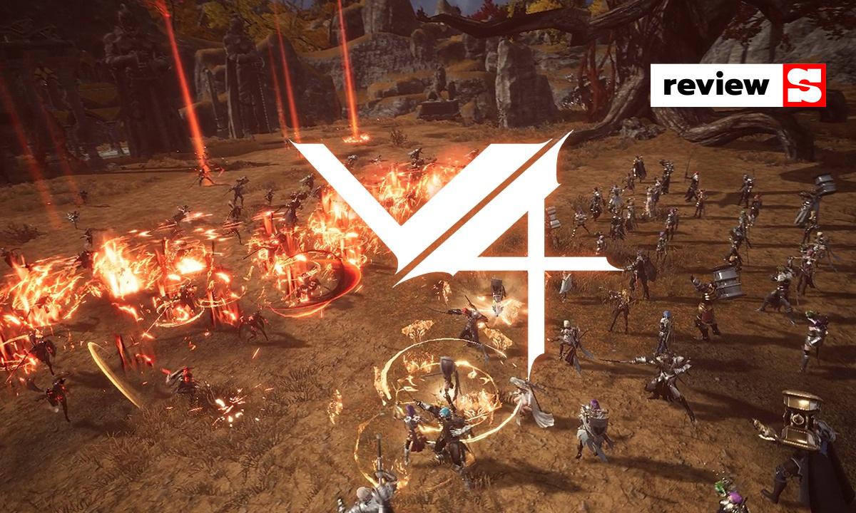 รีวิว V4 เกมมือถือ MMORPG ตัวแรงใหม่ล่าสุดของ Nexon