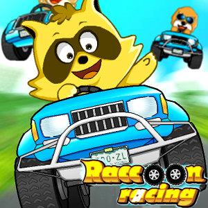 เกมส์รถแข่ง Raccoon Racing