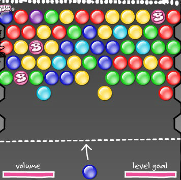 เกมส์ยิงลูกบอล pop bubble