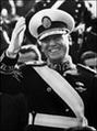 ฮวน โดมิงโก เปรอง ได้รับการเลือกตั้งให้เป็นประธานาธิบดี แห่งอาร์เจนตินา
