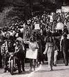 ชาวอเมริกันชุมนุมคัดค้านสงครามเวียดนาม