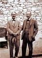 โฮเวิร์ด คาร์เตอร์ (Howard Carter)และ ลอร์ด คาร์นาร์วอน (Lord Carnarvon)