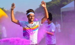 เตรียมตัวสนุกกับวิ่งสาดสีระดับโลกใน The Color Run
