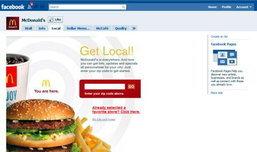 แมคโดนัลด์จับมือเฟซบุ๊กชวนคุณเข้าร้าน