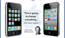 เปรียบเทียบ iPhone 3GS กับ iPhone 4