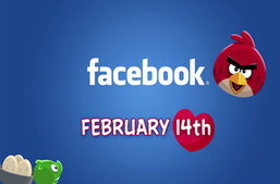 Angry Birds เจอกันแน่บน Facebook 14 กุมภาพันธ์นี้