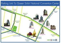 ข้อมูลที่จอดรถและเส้นทางการเดินทางมางาน Thailand Mobile Expo 2013