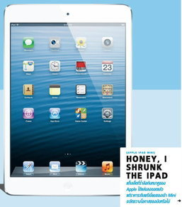 HONEY, I SHRUNK THE IPAD