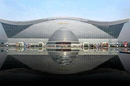 จีนเปิดตัวสิ่งก่อสร้างที่ใหญ่ที่สุดในโลก