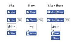 Facebook รีดีไซน์ ปุ่ม Like ครั้งแรก