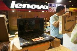 โปรโมชั่นโน้ตบุ๊คราคาถูกคุ้ม ลดสูงสุด 3,000 บาท พร้อมรุ่นแนะนำในบูธ Lenovo