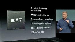 ชิป Apple A7 แบบ 64 บิต ทำ Qualcomm กลายเป็นผู้ตามเทรด์อย่างเหลือเชื่อ