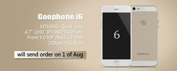 GooPhone i6 เตรียมเปิดตัวสิงหาคมนี้ ลอกดีไซน์ iPhone 6 ขนาด 4.7 นิ้ว