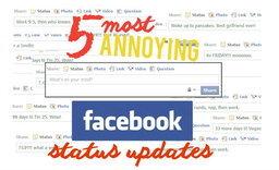 5 status น่ารำคาญที่ไม่ควรตั้งใน Facebook