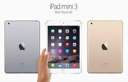 สรุปข้อมูลสเปค และ ฟีเจอร์ใหม่ๆ พร้อมราคา และ วันวางจำหน่าย(iPad Mini 3)