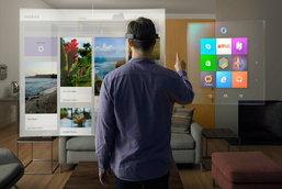ล้ำยุคไปอีกก้าว ไมโครซอฟท์เปิดตัว HoloLens แว่นโฮโลสโคปสุดไฮเทค