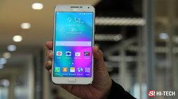 ความรู้สึกแรกที่ได้จับ Galaxy E7 คือ เห้ย! นี่โทรศัพท์อะไรเนี่ย