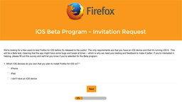 Firefox บน iOS ใกล้คลอดแล้ว มาร่วมทดสอบกันได้