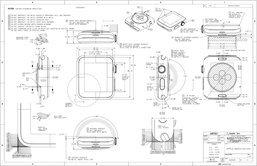 Apple เผยภาพแผนผังโชว์รายละเอียดทุกสัดส่วนของ Apple Watch
