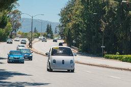 รถไร้คนขับขนาดเล็กของกูเกิล ออกทดลองวิ่งบนถนนจริงใน Mountain View แล้ว