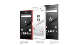 สิ้นสุดการอคอย Sony Xperia Z5 เปิดตัวแล้ว พร้อมกัน 3 แบบและตัวท็อปใช้จอ 4K