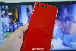 แซ่บเวอร์ เว็บจีนหลุดภาพ Sony Xperia XZ Premium สีแดงเพลิง จ่อวางขายเร็วๆ นี้