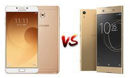 เปรียบเทียบGalaxy C9 Pro และ Sony Xperia XA1 Ultra สองสมาร์ทโฟนจอไซส์ยักษ์ขนาด 6.0 นิ้ว