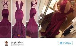 รวมภาพไม่ได้ดั่งใจของสาวๆ ที่ซื้อ Dress Online มาให้ดู