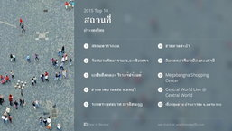 ประเด็นที่มีการสนทนามากที่สุดในระดับโลกและ 10 อันดับสถานที่เช็คอินในไทยบน Facebook ปี 2558