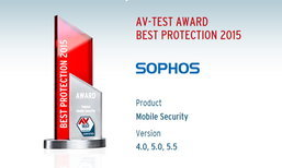 สถาบัน AV-Test มอบรางวัลด้านการป้องกันภัยคุกคาม ให้กับ Sophos Mobile Security For Android