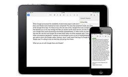 Google ปรับ Docs, Sheets, Slides รองรับการทำงาน Multi Tasking ใน iPad