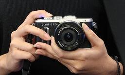 Olympus เปิดตัวกล้อง Mirror Less 2 รุ่นเพื่อสายโปร และฟรั้งฟริ้ง