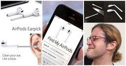 10 ไอเดียที่ชาวเน็ตเอามาล้อเลียนเกี่ยวกับ AirPods หูฟังไร้สายใหม่ล่าสุดจาก Apple