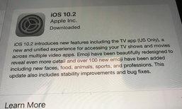 Apple ปล่อย iOS 10.2 และ Watch OS 3.1.1 เวอร์ชั่นเต็มแล้วอย่างเป็นทางการ