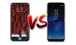 เปรียบเทียบสเปกล่าสุด iPhone 8 และ Samsung Galaxy S8 ยอดเรือธงคู่แข่งตลอดกาลแห่งปี