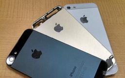 รวมภาพเปรียบเทียบ iPhone 5S และ 5C ทั้งห้าสี