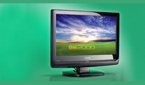 Toshiba  REGZA 19AV550T LCD TV