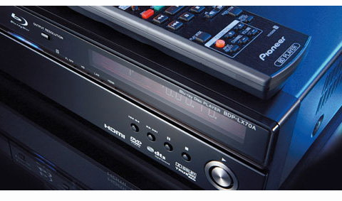 Pioneer BDP-LX70A Blu-ray Player