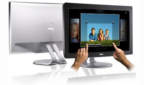 Dell ออกจอสัมผัส+เว็บแคมรับ Win7