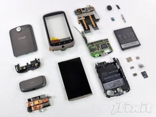 ชำแหละ Nexus One ต้นทุนหกพันบาท