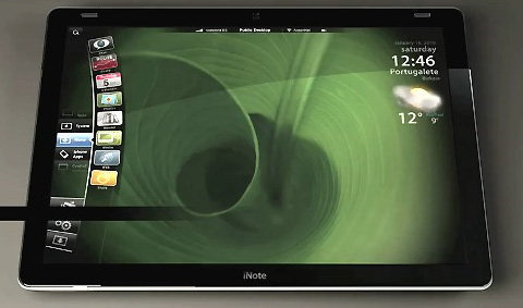 """ไอเดีย""""อินเตอร์เฟซ""""ของ Apple Tablet"""